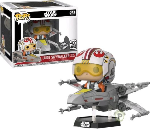 Funko Pop Rides Star Wars Luke Skywalker with X-Wing #232