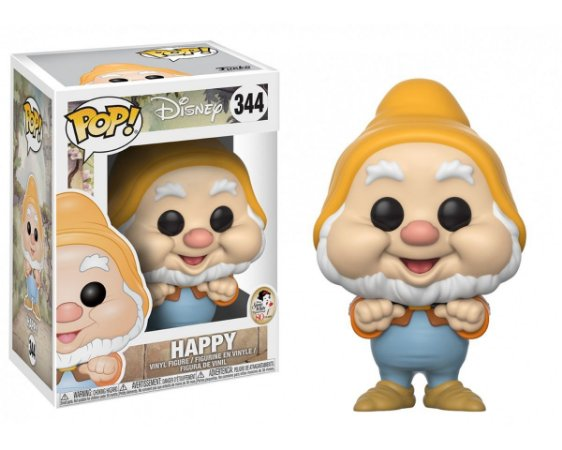 Funko Pop Disney Branca de Neve Happy #344