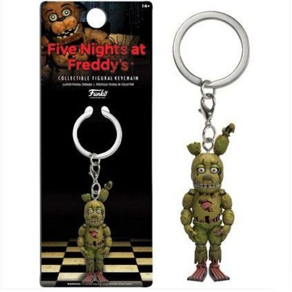 Chaveiro Five Nights At Freddys FNAF Spring Strap