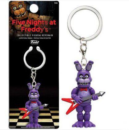 Chaveiro Five Nights At Freddys FNAF Bonnie