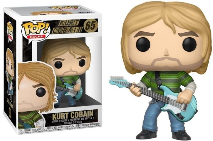 Funko Pop Nirvana Kurt Cobain #65