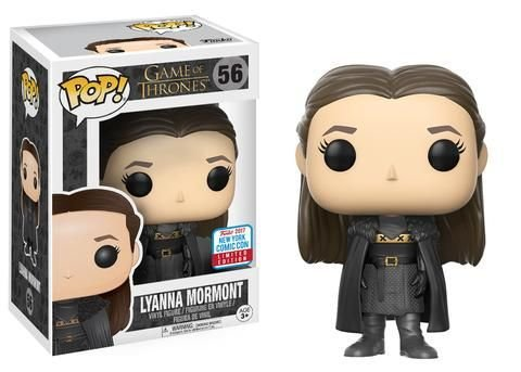 Funko Pop Game Of Thrones Lyanna Mormont Exclusivo Nycc #56
