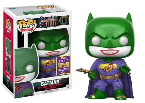 Funko Pop Dc Suicide Squad The Joker Impostor Exclusivo SDCC #188