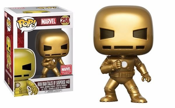 Funko Pop Marvel Iron Man Tales Of Suspense 40 Exclusivo #258