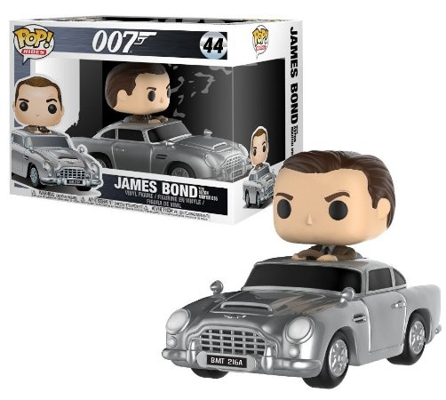 Funko Pop Rides 007 James Bond Com Aston Martin #44