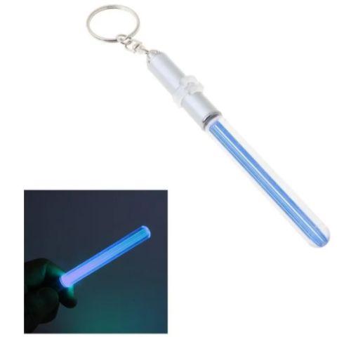 Chaveiro Sabre de Luz LightSaber Star Wars Luz Led