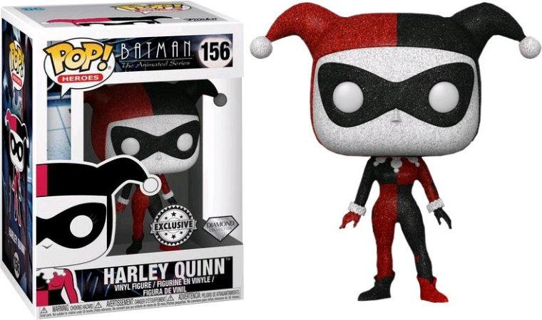 Funko Pop DC Batman Animated Series Harley Quinn Diamond #159
