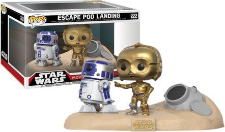 Funko Pop Star Wars Movie Moments Escape Pod Landing