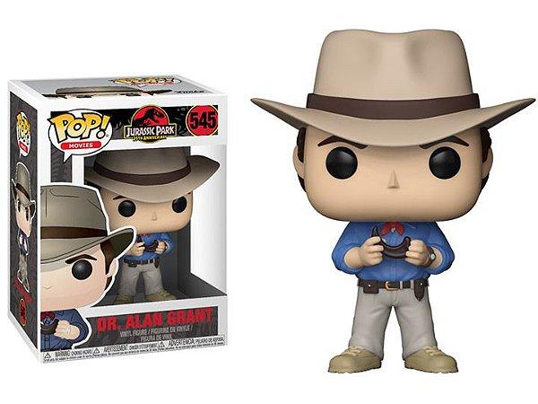 Funko Pop Jurassic Park Dr Alan Grant #545
