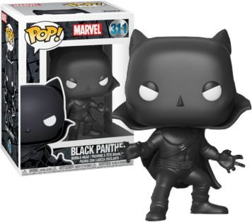 Funko Pop Marvel Pantera Negra Black Panther Exclusivo #311