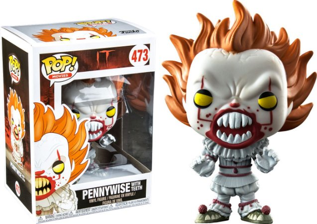 Funko Pop Terror IT A Coisa Pennywise Exclusivo #473