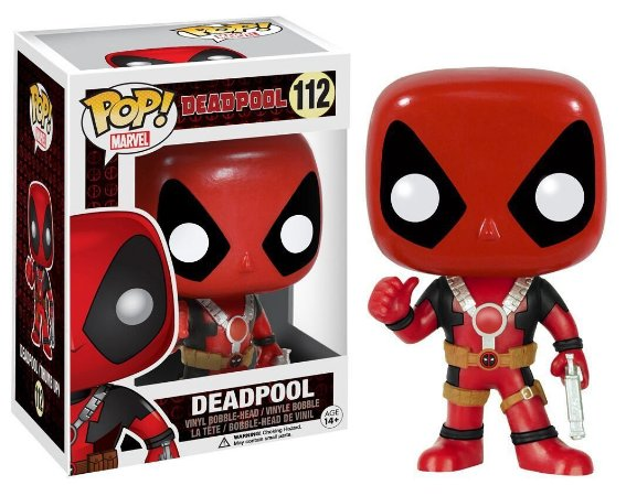 Funko Pop Marvel Deadpool Thumb Up #112
