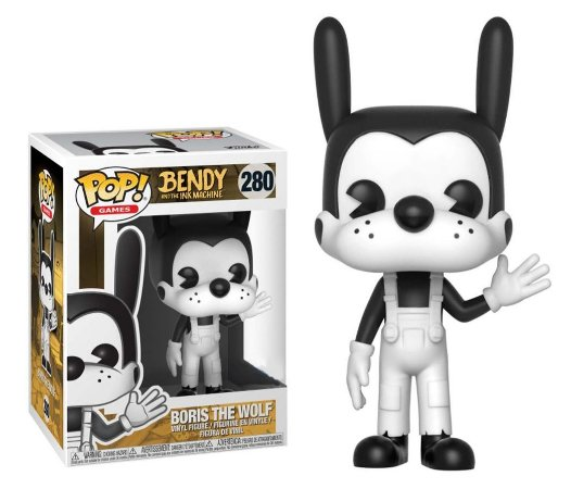 Funko Pop Bendy And The Ink Machine Boris The Wolf #280