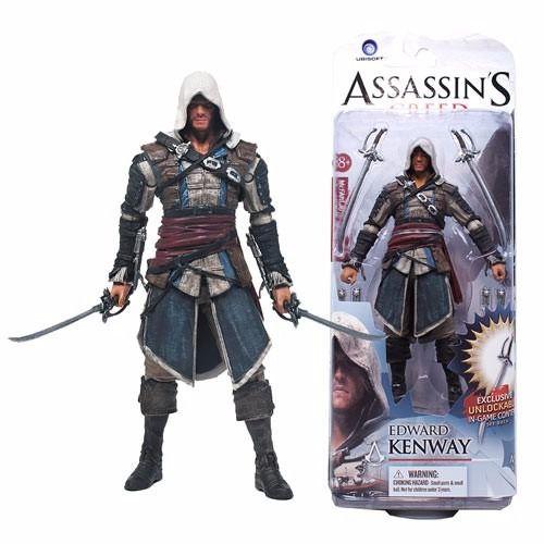 Assassins Creed 3 Edward Kenway Mcfarlane Action Figure