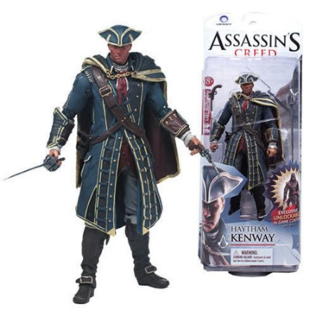 Assassins Creed Haytham Kenway Kenway Mcfarlane Action Figure