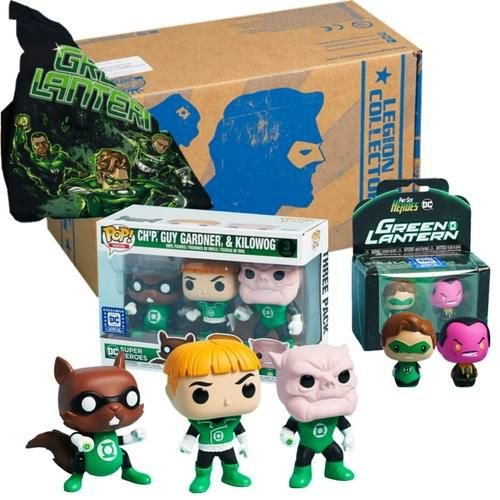 Funko Box Green Lantern Lanterna Verde Legion Of Collectors