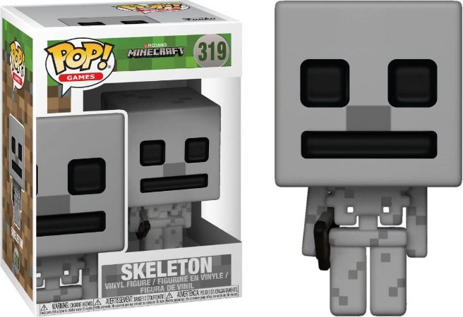 Funko Pop Minecraft Skeleton #319