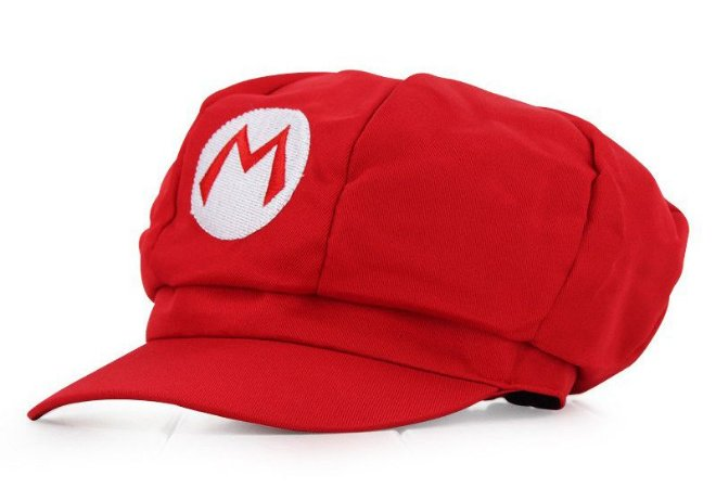 Boina Super Mario Bros - Mario