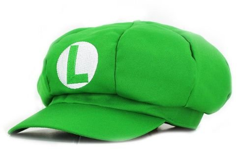 Boina Super Mario Bros - Luigi