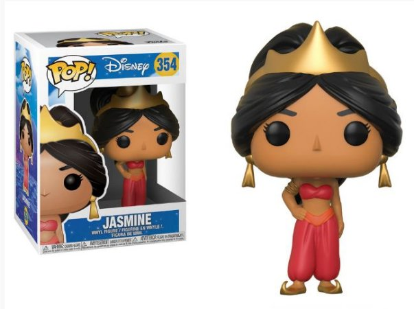 Funko Pop Disney Aladim Jasmine Red #354