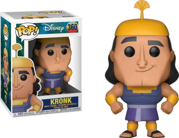 Funko Pop Disney A Nova Onda do Imperador Kronk #360