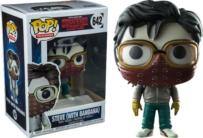 Funko Pop Stranger Things Steve with Bandana Exclusivo #642
