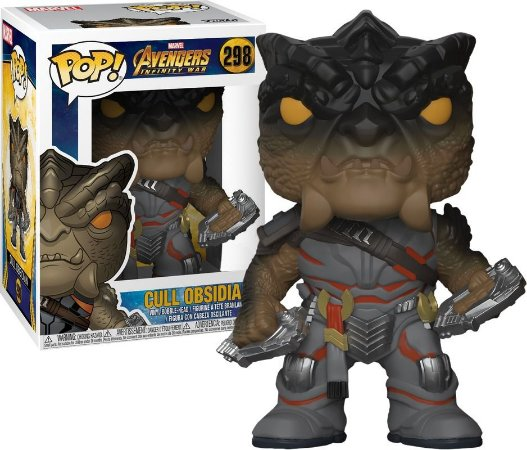 Funko Pop Marvel Avengers Infinity War Cull Obsidian Exclusivo #298