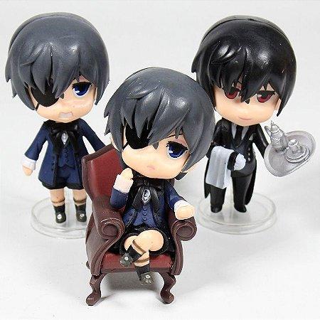 Black Butler Kuroshitsuji Set 3 Action Figures