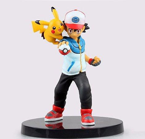 Ash e Pikachu Pokemon Action Figure