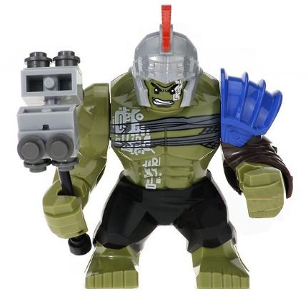 Bloco de Montar Marvel Thor Ragnarok Hulk Gladiador