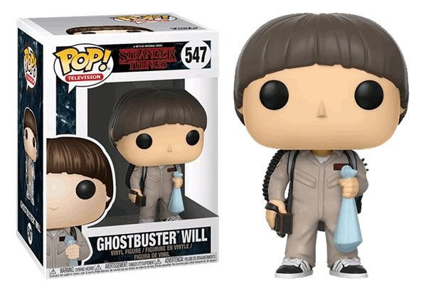 Funko Pop Stranger Things Ghostbuster Will #547