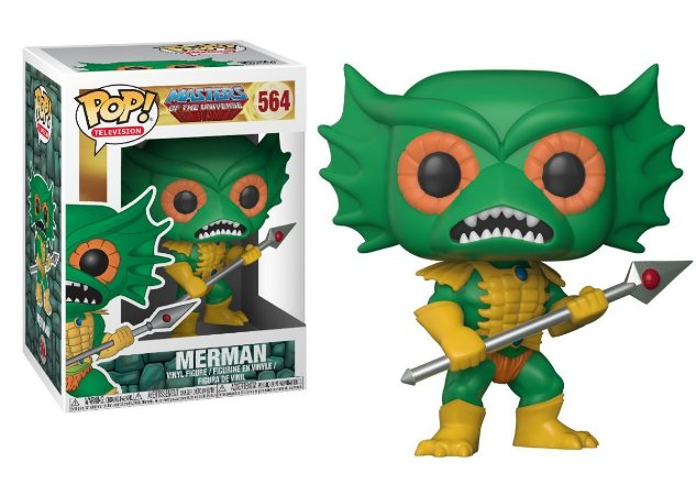 Funko Pop Masters of The Universe Merman #564