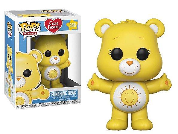 Funko Pop Ursinhos Carinhosos Care Bears Funshine Bear #356