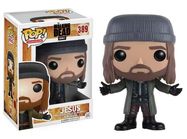 Funko Pop The Walking Dead Jesus #389