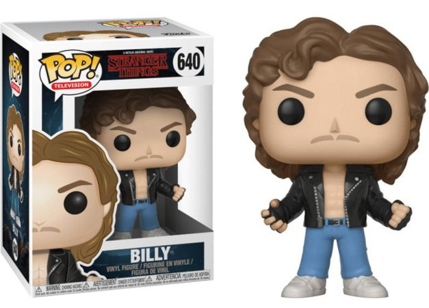 Funko Pop Stranger Things Billy #640