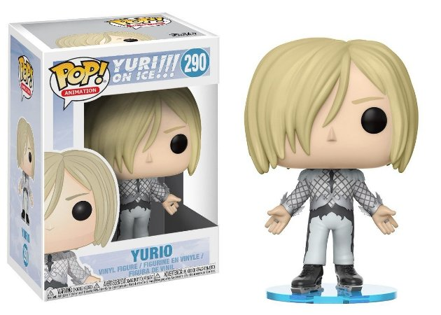 Funko Pop Yuri on Ice Yurio #290