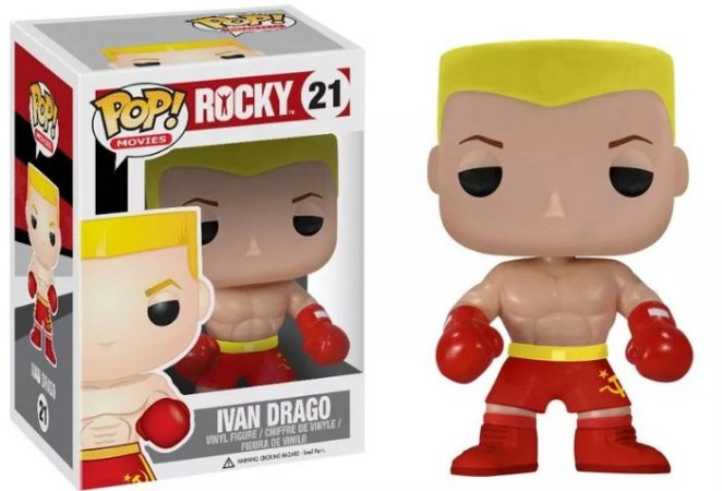 Funko Pop Rocky Ivan Drago #21