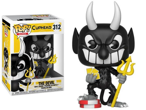 Funko Pop Cuphead The Devil #312