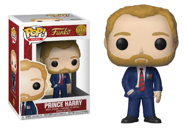 Funko Pop Royal Family Familia Real Prince Harry #06