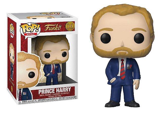 Funko Pop Royal Family Prince Harry #06