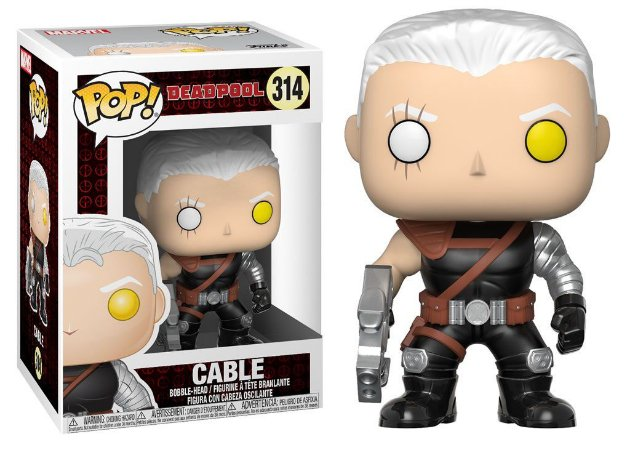 Funko Pop Marvel Deadpool Cable #314