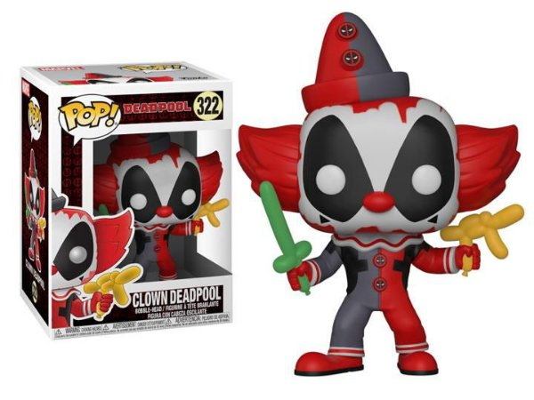 Funko Pop Marvel Clown Deadpool #322