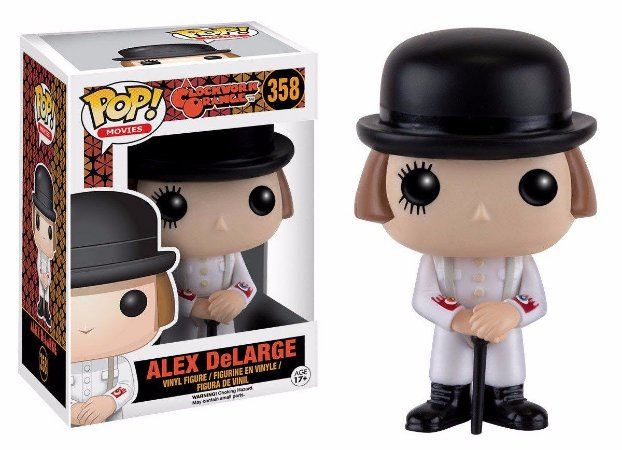 Funko Pop Clockwork Orange Laranja Mecanica Alex Delarge #358