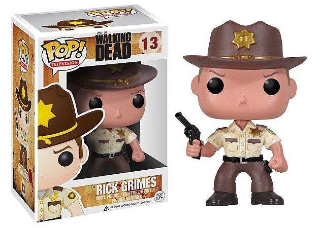 Funko Pop The Walking Dead Rick Grimes #13