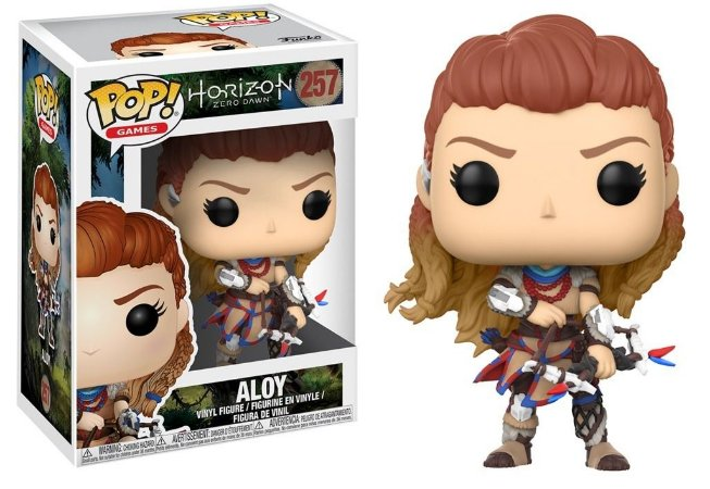 Funko Pop Horizon Zero Down Aloy #257