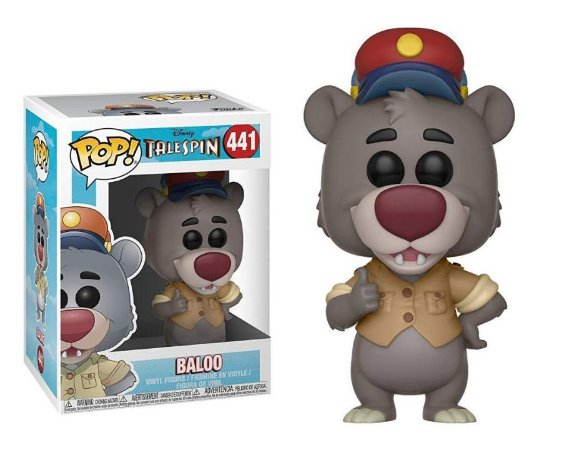 Funko Pop Disney Telespin Baloo #441