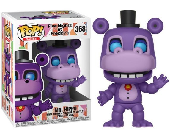 Funko Pop Five Nights At Freddy Mr Hippo #368