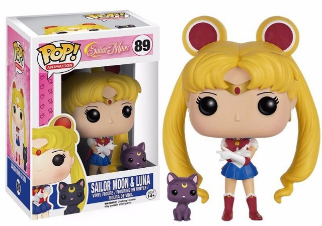Funko Pop Sailor Moon e Luna #89