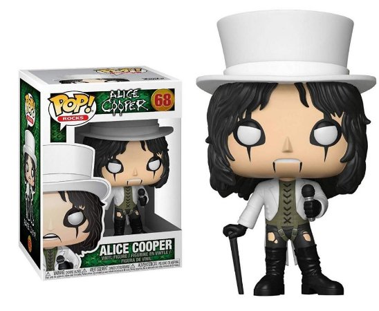Funko Pop Rocks Alice Cooper #68