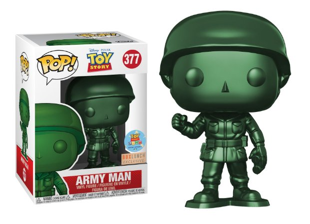 Funko Pop Disney Toy Story Army Man Exclusivo #377